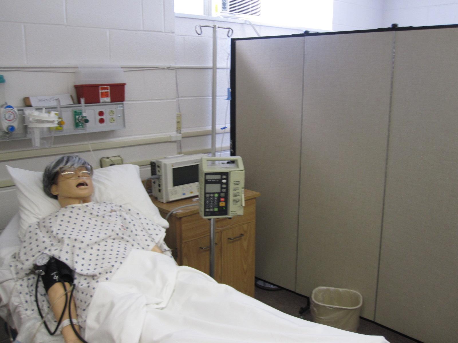 Room Dividers in Nursing School