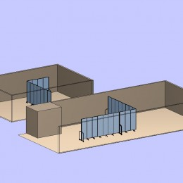 Two Dividers in Two Rooms
