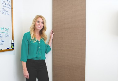 Matching Acoustical Wall Panels