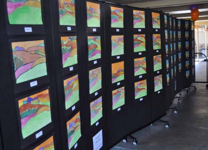 Room Divider Art Display walls