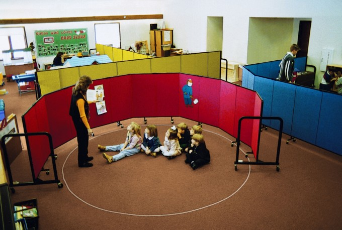 New Day Care Classrooms Made With Room Dividers