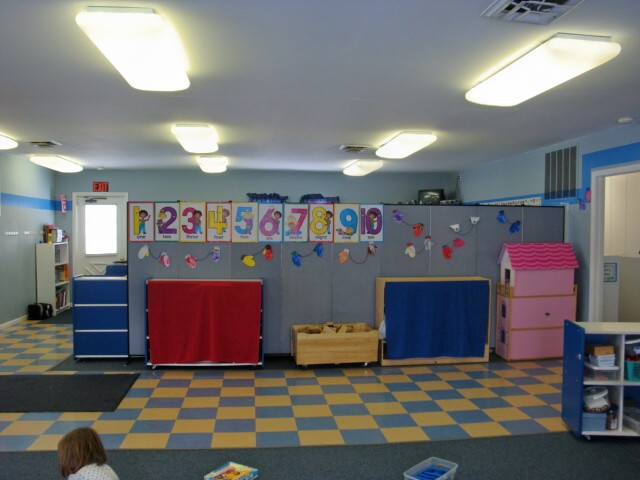 Daycare Learning Centers Use Portable Walls to Divide Large Spaces