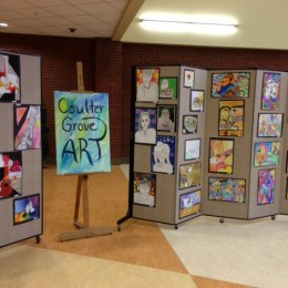 Art Display Screens and Display Dividers for the Coulter Grove Student Art Gallery