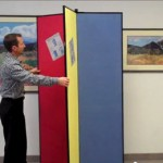 Portable Display Towers and Room Dividers by Screenflex