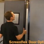 How to Attach a Screenflex Door to an Existing Divider