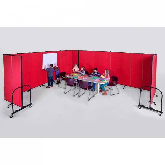 Portable Classroom with Hanging Markerboard