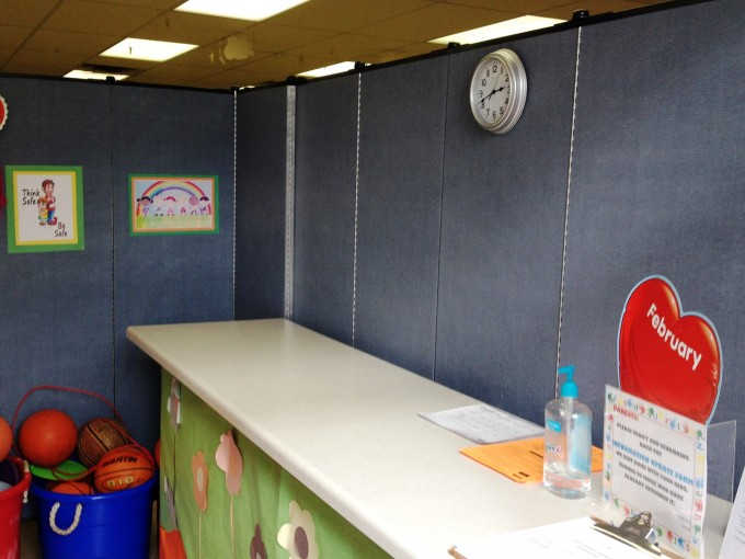 Screenflex partitions aide in privacy and security in schools