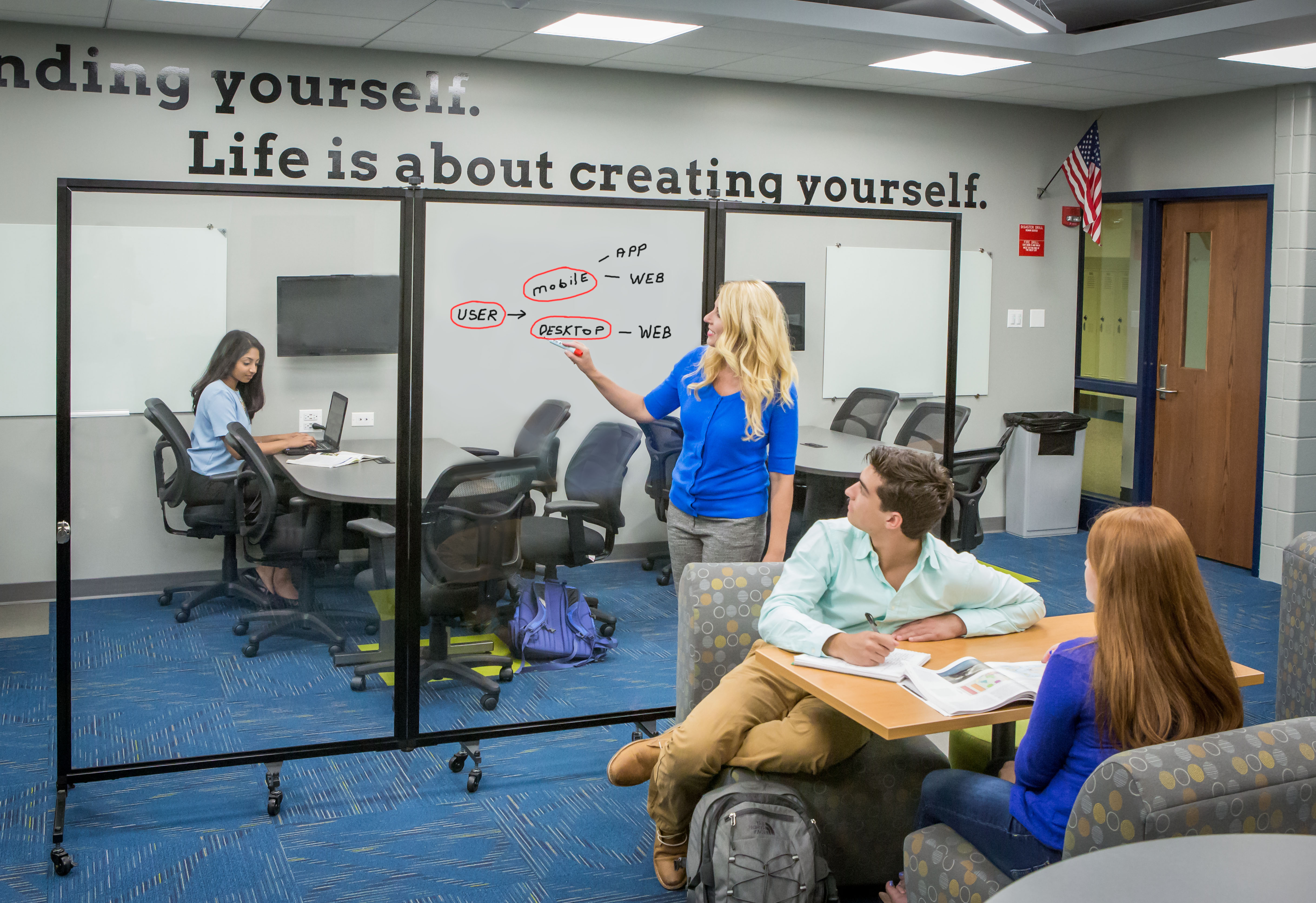 Collaborative Learning Environment Tools | Screenflex Room Dividers