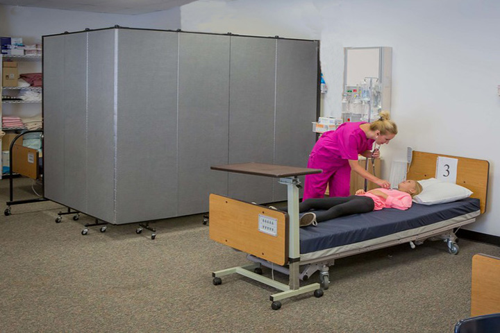 Privacy medical partition