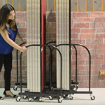 Compact Room Divider Storage