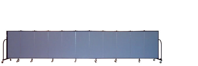 "FSL4011 Screenflex Room Divider, 4'0"" Height X 20'5"" Length"