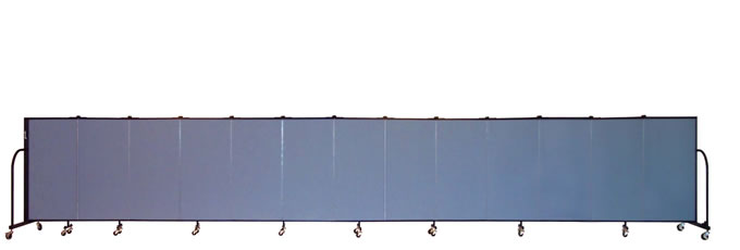 "FSL4013 Screenflex Room Divider, 4'0"" Height X 24'1"" Length"