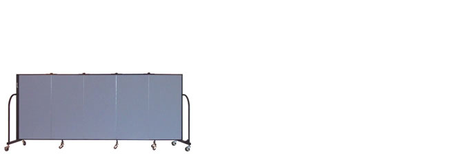 "FSL405-4'0"" Height X 9'5"" Length Freestanding Portable Wall"