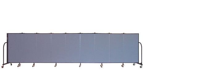 "FSL409 Screenflex Room Divider, 4'0"" Height X 16'9"" Length"