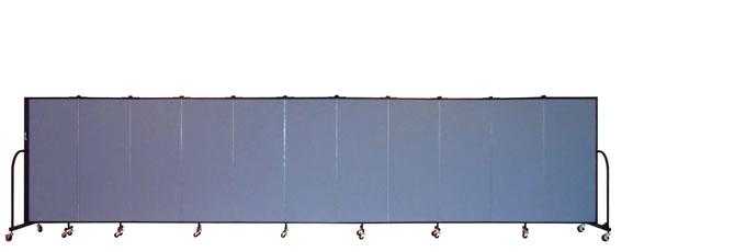 """FSL5011 Screenflex Room Divider, 4'0"""" Height X 20'5"""" Length"""