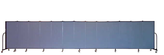 "FSL5013 Screenflex Room Divider, 5'0"" Height X 24'1"" Length"