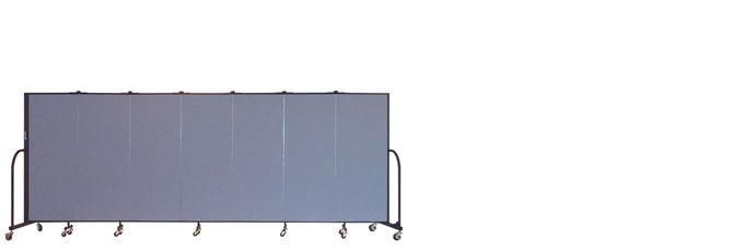 "FSL507 Screenflex Room Divider, 5'0"" Height X 13'1"" Length"