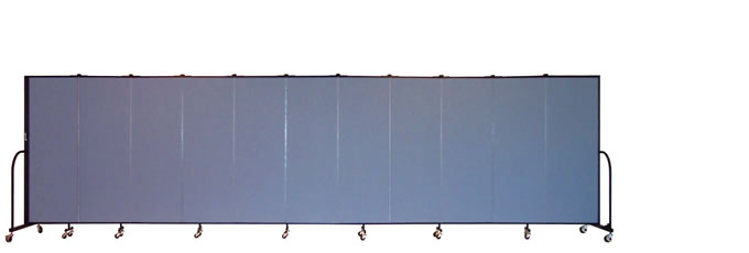 "FSL6011 Screenflex Room Divider, 6'0"" Height X 20'5"" Length"