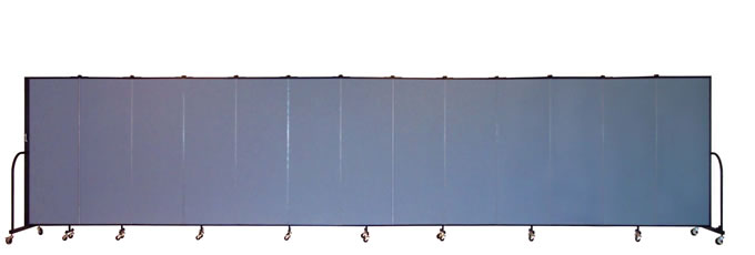 "FSL6013 Screenflex Room Divider, 6'0"" Height X 24'1"" Length"
