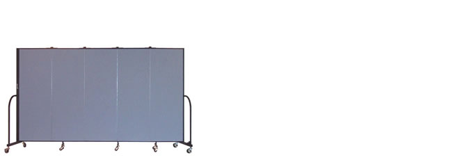 "FSL605-6'0"" Height X 9'5"" Length Freestanding Portable Wall"