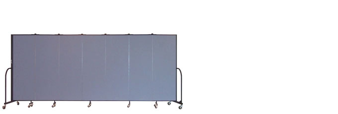 "FSL607 Screenflex Room Divider, 6'0"" Height X 13'1"" Length"