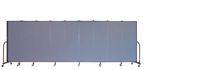 "FSL609 Screenflex Room Divider, 6'0"" Height X 16'9"" Length"
