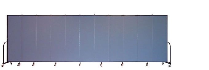 "FSL6811 Screenflex Room Divider, 6'8"" Height X 20'5"" Length"