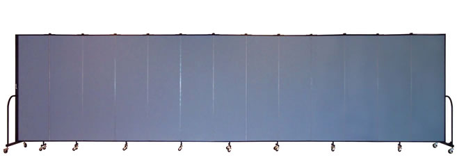 "FSL6813 Screenflex Room Divider, 6'8"" Height X 24'1"" Length"
