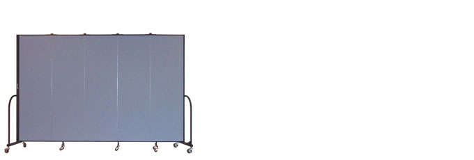 "FSL685-6'8"" Height X 9'5"" Length Freestanding Portable Wall"