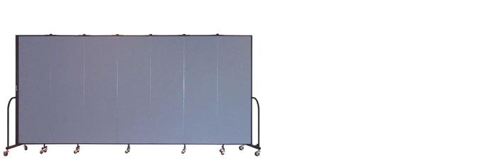 """FSL687 Screenflex Room Divider, 6'8"""" Height X 13'1"""" Length"""