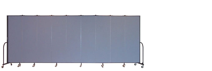 """FSL689 Screenflex Room Divider, 6'8"""" Height X 16'9"""" Length"""