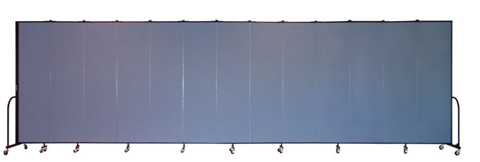 "FSL7413 Screenflex Room Divider, 7'4"" Height X 24'1"" Length"