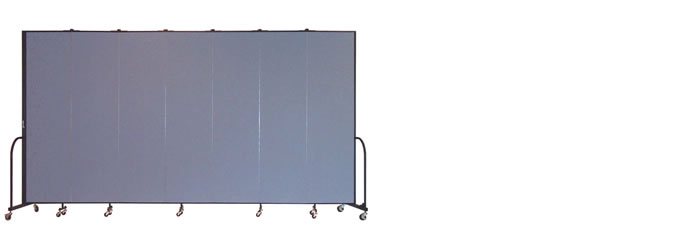 "FSL747 Screenflex Room Divider, 7'4"" Height X 13'1"" Length"