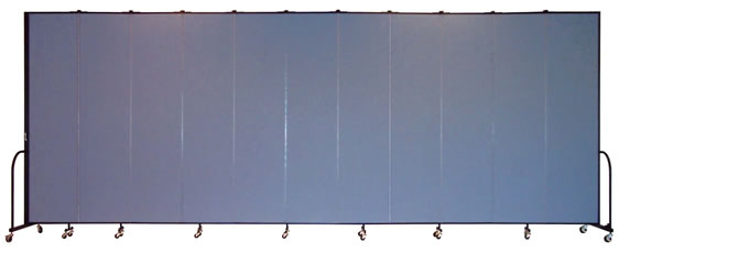 "FSL8011 Screenflex Room Divider, 8'0"" Height X 20'5"" Length"