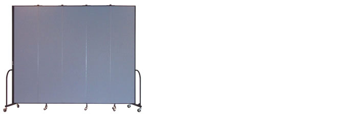 "FSL805-8'0"" Height X 9'5"" Length Freestanding Portable Wall"
