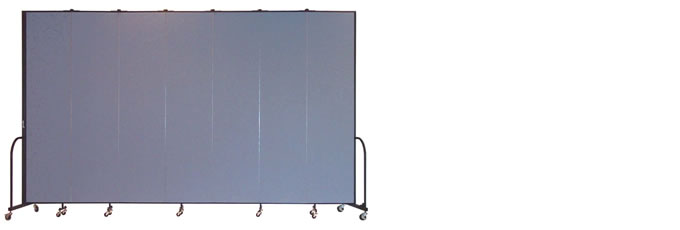 "FSL807 Screenflex Room Divider, 8'0"" Height X 13'1"" Length"
