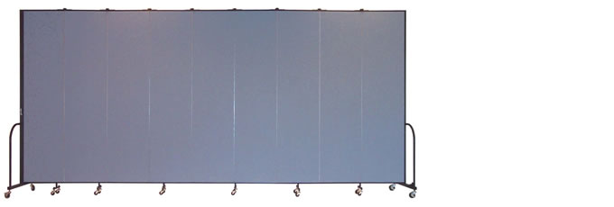 "FSL809 Screenflex Room Divider, 8'0"" Height X 16'9"" Length"
